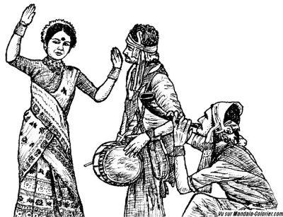 Coloriage A Imprimer Danseuse Indienne.Ganesh Et Coloriages De L Inde Coloriage Inde 1 Mandalas